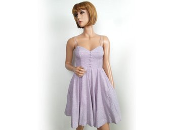 New look storlek 38 (10) Dress pastell bomull SAMFRAKT