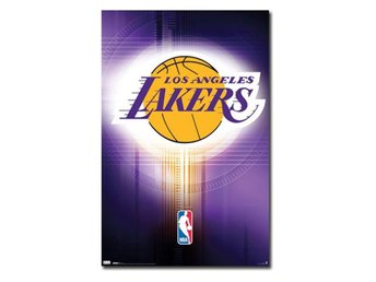 Los Angeles Lakers Logo Poster Affisch NBA