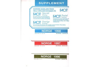 Norge Supplement 1996-1998  Facit sid 116-123