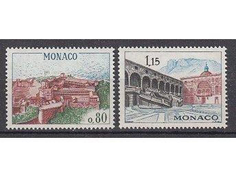 Monaco 1969. Mi. nr: 936-37 ** - Njurunda - Monaco 1969. Mi. nr: 936-37 ** - Njurunda