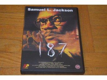 187 ( Samuel L Jackson ) DVD - Töre - 187 ( Samuel L Jackson ) DVD - Töre