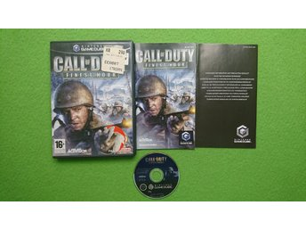 Call of Duty Finest Hour KOMPLETT Gamecube Nintendo Game Cube