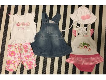 Girls summer package - size 0-3mths