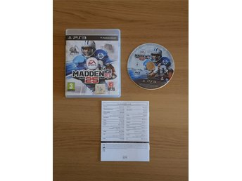 EA Sports MADDEN 25 NFL-spel till PS3 - Play Station 3