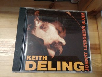 Keith Deling - Johnny Lindgrens Blues, CD