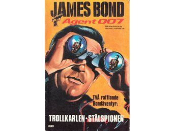 James Bond nr 54 (1978) / VG/FN / bra lässkick