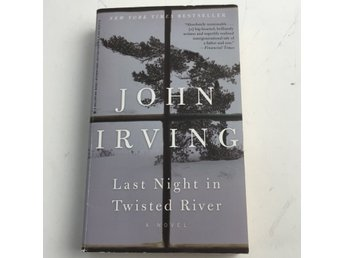 one world, Bok, Last Night in Twisted River - John Irving, Grå/Vit