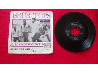 "Four Tops ""I`m in a different world""  singel"