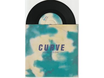 CURVE  7'' - Coast is clear, UK -91, PS