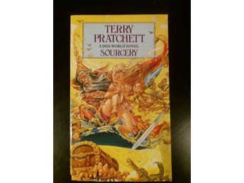 "Terry Pratchett ""Sourcery"" Discworld pocket"