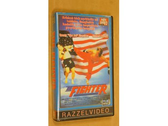 THE FIGHTER RAZZEL VIDEO - BENNY THE JET - RICHARD NORTON (VHS-FILM)