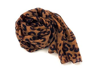 Leopard Chiffong scarfs