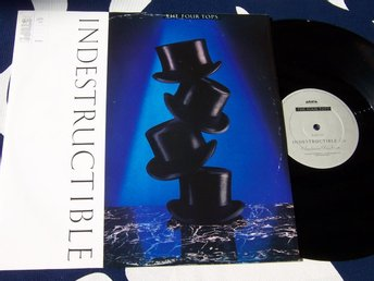 "FOUR TOPS THE - INDESTRUCTIBLE 12"" 1988 UK"