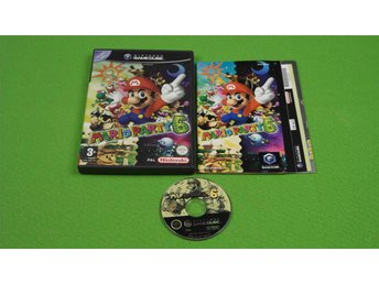Mario Party 6 i fint skick GameCube Game Cube