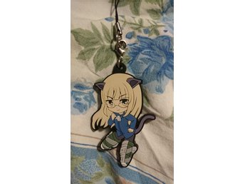 Strike witches perrine nyckelring anime moe manga kawaii chibi Japan