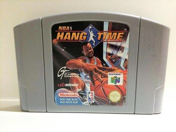 NBA Hang Time - Nintendo 64 / N64 - PAL - EUR - Svensksåld