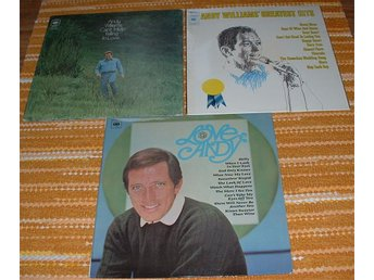 3 LP med Andy Williams
