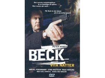 BECK VITA NÄTTER DVD - Jonsred - BECK VITA NÄTTER DVD - Jonsred
