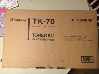 NY! KYOCERA TK-70 lasertoner kit för skrivare 9100/9500 - Helsingborg - NY! KYOCERA TK-70 lasertoner kit för skrivare 9100/9500 - Helsingborg