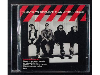 U2 - HOW TO DISMANTLE AN ATOMIC BOMB. CD+DVD.