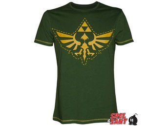 Nintendo Zelda Bird Triforce T-Shirt Grön (X-Large)