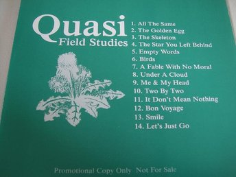 QUASI Field studies PROMO CD DOMINO FINT SKICK