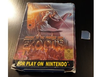 Exodus Journey To The Promised Land - Med Box - Nes / Nintendo - Wisdom Tree