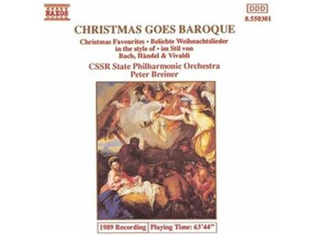Christmas Goes Baroque (CSSR State P O/Breiner) (CD)