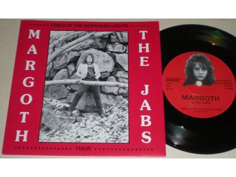 Margoth & The Jabs 45/PS Thor( Mörbyligan ) 1988 M- Rare
