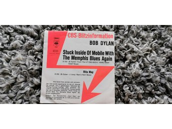 Bob Dylan, singel, Stuck Inside Of Mobile With The Memphis Blues Again/Rita May