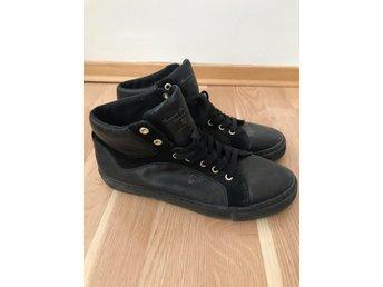 Gant high höga sneakers läder skor 40