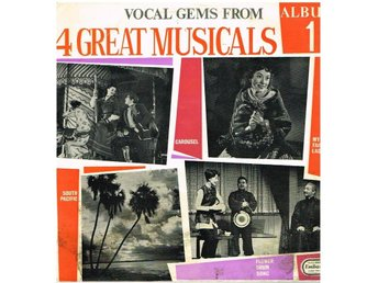 Vocal gems from 4 great musicals