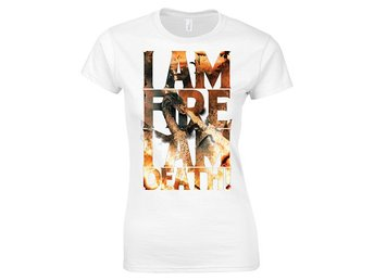 Hobbit -  I am Fire T-Shirt Girls White - XL