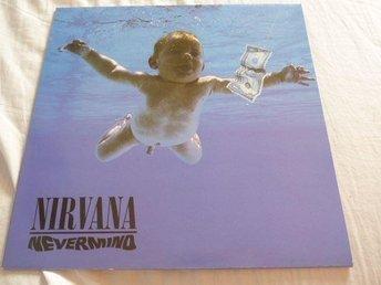 Nirvana - Nevermind - LP - Guld vinyl - Karlstad - Nirvana - Nevermind - LP - Guld vinyl - Karlstad