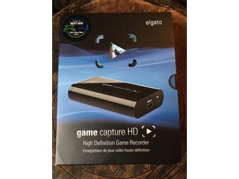 Elgato Game Capture HD Gameplay Inspelning PS4 PS3 XBOX PC