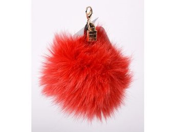 Hpi Of Sweden Handbag Decoration Real Fox Fur Red - Mölndal - Hpi Of Sweden Handbag Decoration Real Fox Fur Red - Mölndal