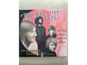 "HEIKKI SARMANTO SERIOUS MUSIC ENSEMBLE "" THE HELSINKI TAPES"", 2-LP, PINK"