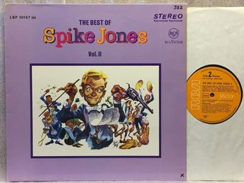 SPIKE JONES / The Best Of - RCA LSP 10157 - NM - Bara - SPIKE JONES / The Best Of - RCA LSP 10157 - NM - Bara