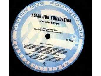 ASIAN DUB FOUNDATION - FORTRESS EUROPE