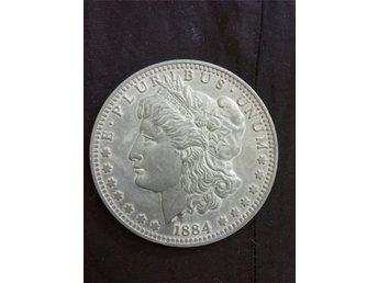 USA 8centimeter stor 1884 - Upplands Väsby - USA 8centimeter stor 1884 - Upplands Väsby