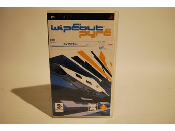 WIPEOUT PURE * PSP komplett original spel i top skick !! PLAYSTATION PORTABLE
