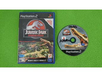Jurassic Park Operation Genesis PS2 Playstation 2