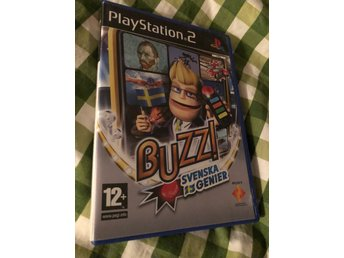 Buzz Svenska Genier ps2 med manual
