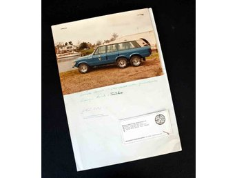 Range Rover Six Wheeler Singh International    Info blad med fotografi !!