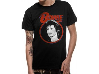 David Bowie - Ziggy Face  T-Shirt Small