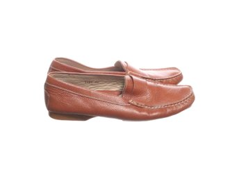 Ginger, Loafers, Strl: 39, Brun/Beige