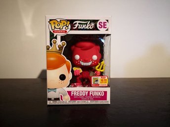 Freddy Funko (The Devil) (Red) Funko Pop