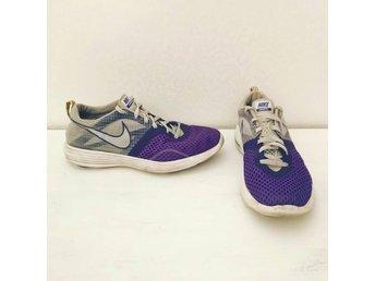 new style 58b65 014c1 Nike skor stl.38. Mycket fint skick, nikeskor lila vita grå dam löpning  sport
