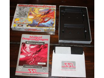 C64 - Heroes of the Lance (AD&D) (Disk) (Beg)