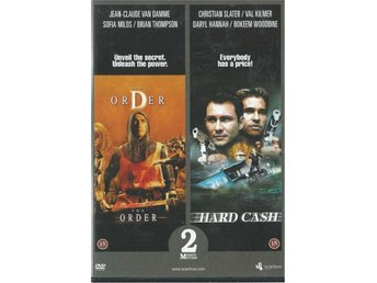 2 FILMER I 1 - THE ORDER + HARD CASH  (SVENSKT TEXT)